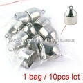 2012 Fashionable Findings,Tapered silver CCB pendant accessories for scarf,PT-379