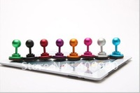 DHL,100pcs/lot Metal Joysticks for ipad2 iphone 4s/game handle rocker for iphone ipad,for P1000,Capacitance Screen Special
