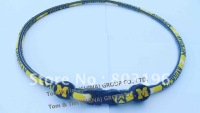 Free Shipping NCAA Basketball Michigan Wolverines Necklaces Basketball Necklaces 100PCS/LOT Mix Teams