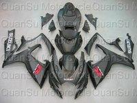 Free shipping SUZUKI 06-07 GSXR600 GSXR 600 Bodywork Fairing K6  261 black