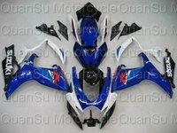 Free shipping SUZUKI 06-07 GSXR600 GSXR 600 Bodywork Fairing K6  263 blue white