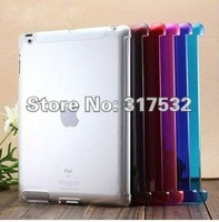 Free Shipping wholesale smart cover Case Hard Clear Plastic Case Cover for IPAD2 10pcs/lot