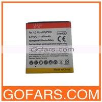 For LG Nitro HD P930 Battery,1900mah,100pcs/Lot,High Quality,Free Shipping