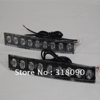 Led daytime Daytime Running Fog Light Kit EURO DRL DALight car day light auto day light 18W high power Audi-style
