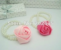 Wholesale Elastic Girl accessories Hair Tie Bands Headband hair Strap headdress flowers  hair band C11