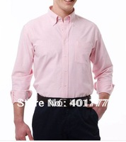 Wholesale 5pcs Mens cotton Casual Slim fit Stylish Long Sleeve Shirts Luxury Mixed Color Classic Collection 4 SIZE