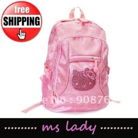 girl gift backpacks school bags hello kitty free shipping HK airmail