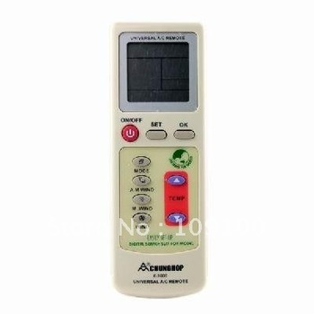 Free shipping /High Quality/Universal LCD A/C Multifunction Air Conditioner Remote Control New