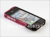 for iphone 4 4s metal aluminum bumper vapor case