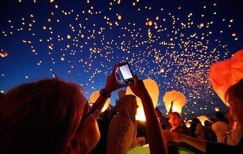 HOT 50PCS Heart shape FIRE SKY CHINESE LANTERNS BIRTHDAY WEDDING PARTY LM07(China (Mainland))