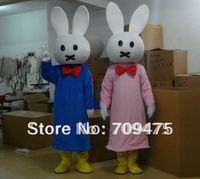 Animail Cosplay Mascot Cute Rabbit Costumes Mascot Performance Cartoon Mascot  Free shpping by EMS