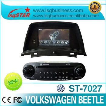 2 Din 6.2 inch VW Beetle Car DVD Player with GPS Navigation system! hot selling!