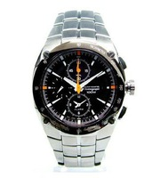 Men's quartz  wristwatches SNA451P1 Precision CHRONOGRAPH ALARM WATCH with box