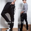 free shipping men&#39;s  pants fashion casual pants loose sarrouel pants big pocket sport trousers wholesale &amp; retail  M -XL 165