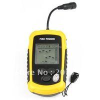 10pcs/lot 100M Portable Sonar LCD Fish Finder  Alarm  #1508