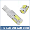 2pcs T10 7.5W Auto Car LED Turn Brake Stop Signal Tail Fog Day Running Light Bulb Lamp For chevrolet cruze/kia rio And so on