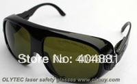 laser safety eyewear 190-450nm & 800-2000nm O.D 4 + CE Certified High VLT% for blue laser and IR808,980nm,1064nm lasers