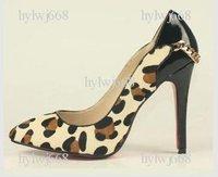 hot selling Free shipping leopard grain Women\'s high heel pumps shoessize:35-41