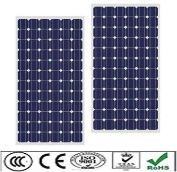 80W Monocrystalline solar panel fitting