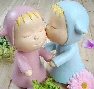 Creative sleepwalking doll piggy piggy lovers dwelling saving tank girlfriend birthday gifts