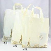 Plastic bag / gift packaging bags / garment bag / tape to handbags-free shipping
