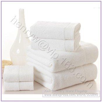 Retail - Luxury 100% Cotton Hand Towel + Face Towel + Bath Towel, 3PCS in Set, Soft & Quick Dry Face Towel, L15509