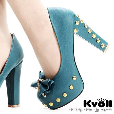 Fashion High Heels 2012 on 2012 New Fashion Pu Butterfly Platform Pumps Women S Sexy Party High