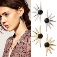 Wholesale vintage  arrow rivet stud earrings, Fashion Hot Selling Popular jewelry Free Shipping