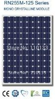 """250W  Nano Solar PV Panel (96 pcs 5"""" Mono cells)"""