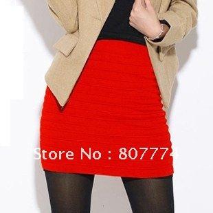 Free-shipping-Women-Red-Orange-Green-mini-skirt-casual-pencil-skirt -slim-fit-short-skirt-mix.jpg
