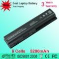 Совместимые для HP Pavilion DV4 DV4-1000 DV5 DV5T HSTNN-CB72 Батареи Ноутбука 6Cells 5200mAh