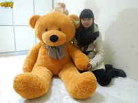 free shipping  New brand Teddy Bear Plush Toys Soft Toys 100CM Stuffed Plush Bear  Brown & white best birthday gift
