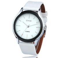 Lover's Fashion Crystal Ceramics Stainless steel SINOBI Wrist Quartz Dress Watch Mens Womens Free Ship