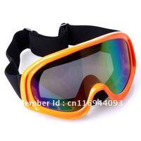 Flexible Snow Goggles Motorcycle Glasses Rainbow Lens