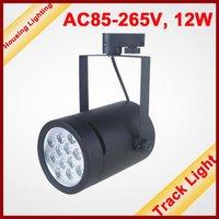 12W LED Track Light, Flood Light, AC85-265V, 12*1W, HS-TL1-12X1W02 [Housing Lighting]