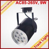 9W LED Track Light, Flood Light, DC85-265V, 9*1W, HS-TL8-9X1W01 [Housing Lighting]