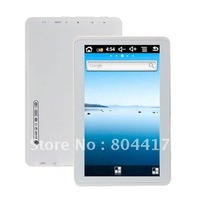 Free Shipping High Quality New  1pcs 5 inch Google Android 2.3 F20 800Mhz Tablet PC T22  White +Wholesale and retail