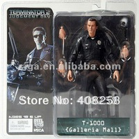 "NECA TERMINATOR 2 JUDGMENT DAY T-1000 GALLERIA MALL FIGURE 7"" Free Shipping FS"