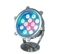 6*1W led rainbow color underwater IP 68 IP Rating with 500 fixture lumen led waterproof swimming pool lights(China (Mainland))