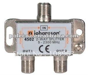 4502 TV Antenna Splitters 5-2300 MHz  Catv splitter/ satallite tv splitter