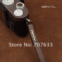 Wholesale New Coucou Camera strap / Wrist belt lanyard  Leather camera wrist strap Coffee Color CAM3023