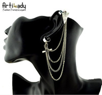 Ювелирное украшение для тела Artilady weave Long chain Necklace gold and silver body chain necklace jewelry