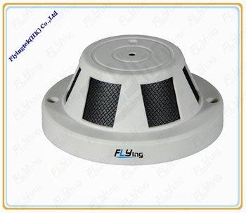 Smoke sensor network camera with h.264 compression,shipping free