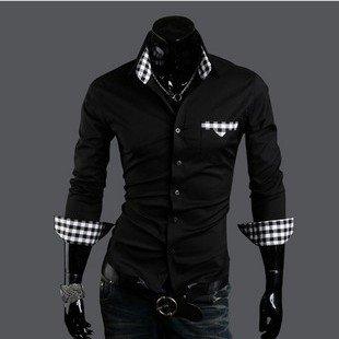 Best New Men&-39-S Shirts Men&-39-S Leisure Shirts Casual Slim Fit Stylish ...
