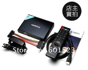 Free DHL EMS shipping 1080P HDMI Network HD Media Player Himedia HD600A + WIFI MKV