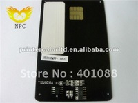 Auto reset toner card chip for PhilipsPFA-822, PFA820,PFA822,PFA-820 for Philips 6080 cartridge