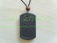 [2 pcs/lot] Quantum Scalar Energy Pendant Square Design Health Necklace Free shipping by China Post Airmail