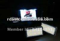 FreeShipping LED License Plate Lamp for Toyota for Land Cruiser 120 Prado 200 for Lexus GX470 Land