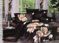 Hot Beautiful 4PC 100% COTTON COMFORTER DUVET DOONA COVER SET QUEEN / KING SIZE bedding set 4pcs Nice magnolia grandiflora