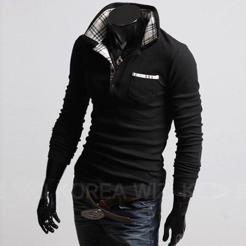 Polo shirt new shirt for men cotton short sleeve korean style shirts